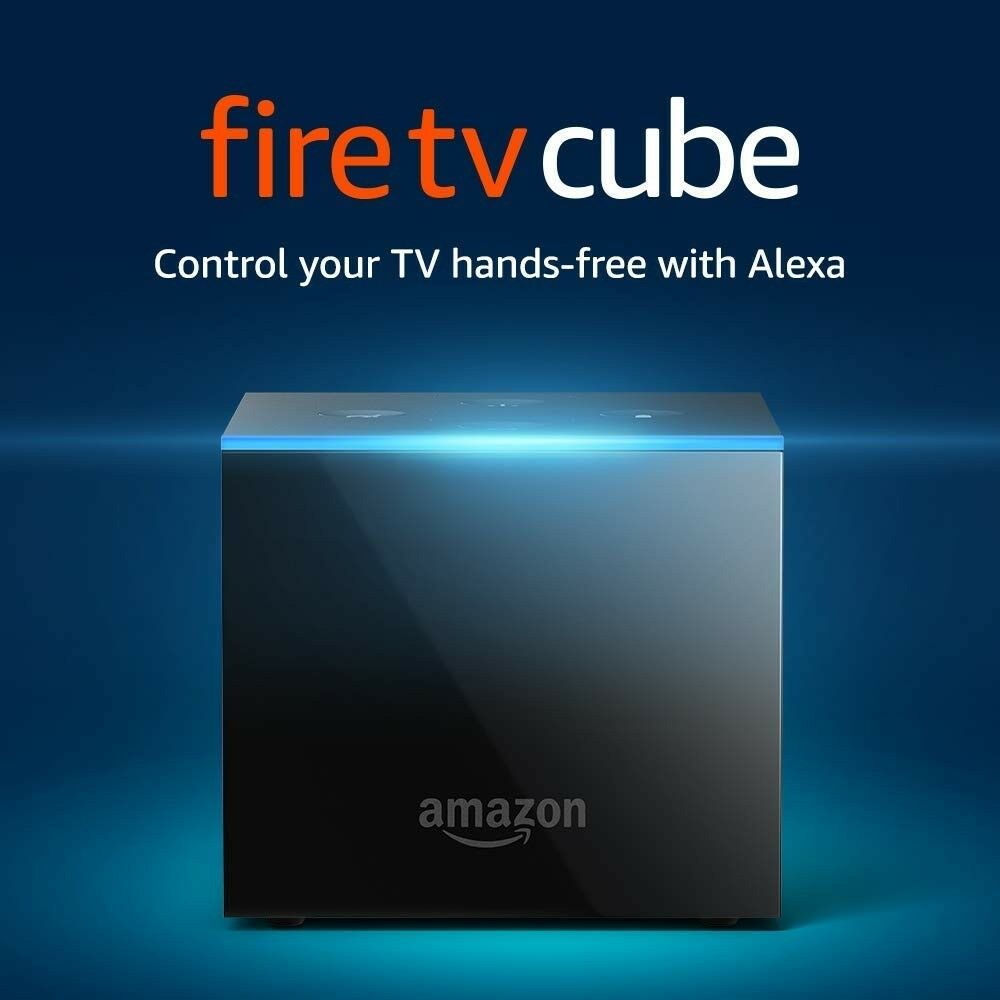 Amazon Fire TV Cube with Alexa and 4K Ultra HD Streaming Media Player Featured