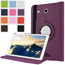 360 Rotating Luxury Leather Protective Case Cover For Samsung Galaxy Tab A E S3