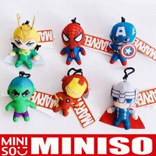 """Miniso X Marvel Authentic Avengers 10/"""" Thor Mjolnir Hammer Plush New"""