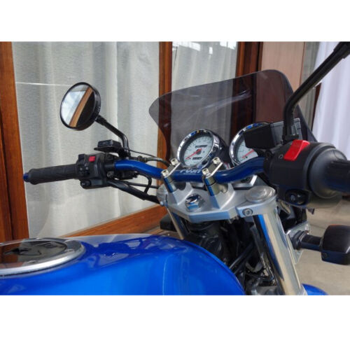 "For Honda CBF 1000 2006-2019 22mm 7//8/"" HandleBar Bar Risers Mount Clamp Adapter"