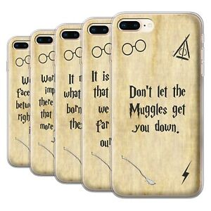 Gel-TPU-Case-for-Apple-iPhone-8-Plus-School-Of-Magic-Film-Quotes