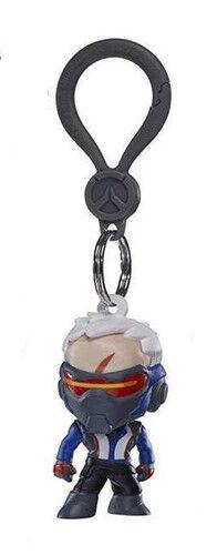 Overwatch 2/'/' Soldier 76 Hanger Figure Bag Clip Key Chain Anime Manga NEW