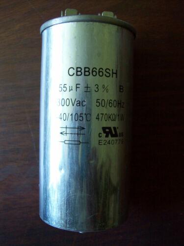LOT OF 2 CBB66SH 150 WATT HPS 55UF BALLAST CAPACITOR R CIRCUIT TYPE
