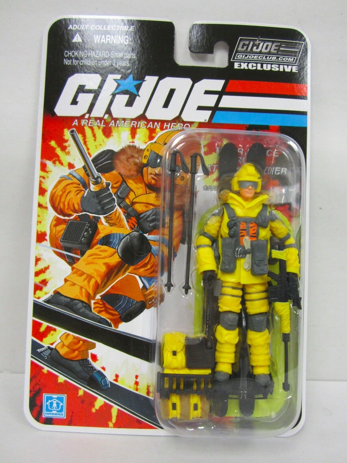 G.I. Joe Collector's Club FSS final 12 Tiger Force Reino Unido Blizzard acción figura menta en tarjeta