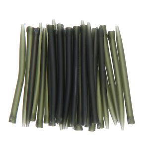 30pcs-set-53mm-2-1-039-039-Anti-Tangle-Sleeves-Carp-Fishing-Tackle-Outdoor-Green