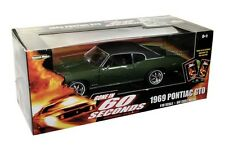 1969 PONTIAC GTO GONE IN 60 SECONDS 1/18 DIE CAST GREEN VINY TOP BY ERTL 36685