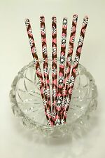 VERA BRADLEY MOCA ROUGE GEM TIP PENCIL SET