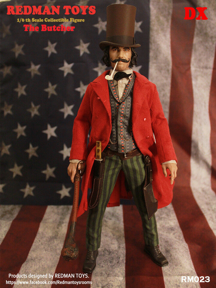 REDMAN TOYS 1 6 Gangs Of New York Bill The Butcher Figure RM023 Rainman iminime