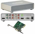 Matrox MXO2 Mini HD Video Capture box w/PCI-E card + universal power adaptor