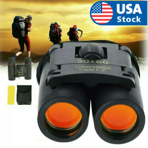 Binoculars-30x60-Zoom-Outdoor-Travel-Compact-Folding-Telescope-Hunting-Day-Night