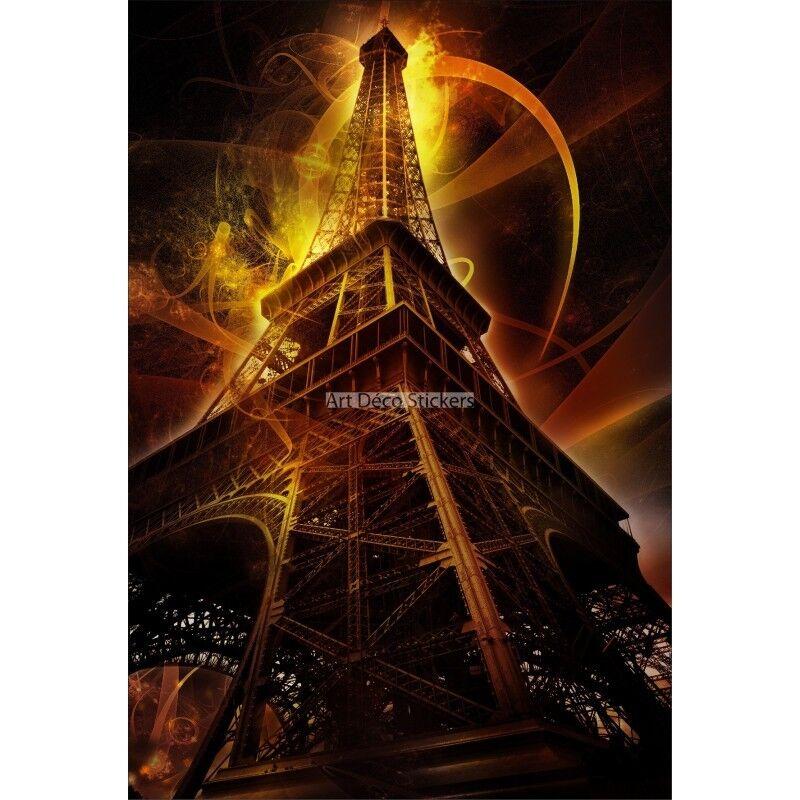 Wandaufkleber Deko  Eiffelturm 1686