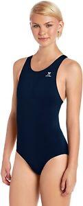 TYR-SPORT-Women-039-s-184878-Durafast-Elite-Solid-Maxfit-One-Piece-Swimsuit-Size-38