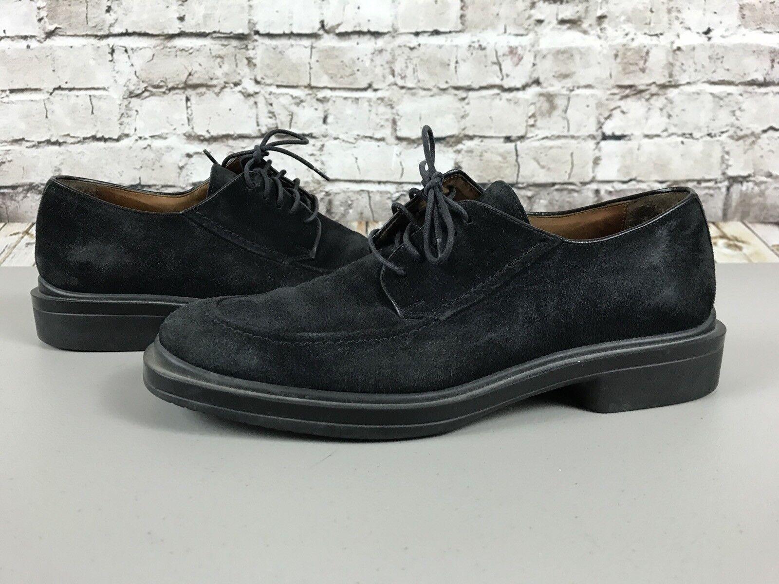 Men's Johnston & Murphy Suede Lace Up shoes Size 8M Vibram Casual Oxfords