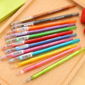 Fashion-Diamond-Refill-Draw-Colored-Pens-Student-Pen-School-Gel-Pen-Supplies-New