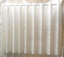 "LOUVRE NET LACE BLIND VALENCIA DESIGN  LOUVRE BLINDS NET CURTAINS 72""X 90"" WHITE"