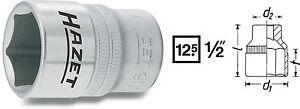 HAZET-900-Steckschluesseleinsatz-Nuss-1-2-034-Antrieb-8-36-mm-Schl-weite-6-KANT