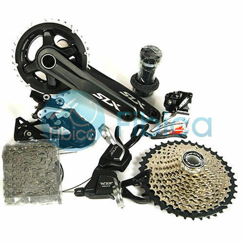 New Shimano SLX M7000 Double  2x11 22-speed MTB Group Groupset set  official website