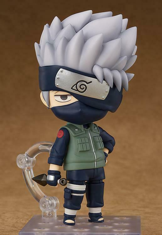 Nendoroid  724 Kakashi Hatake (Boruto's Dads Teacher) Naruto Shippuden Authentic