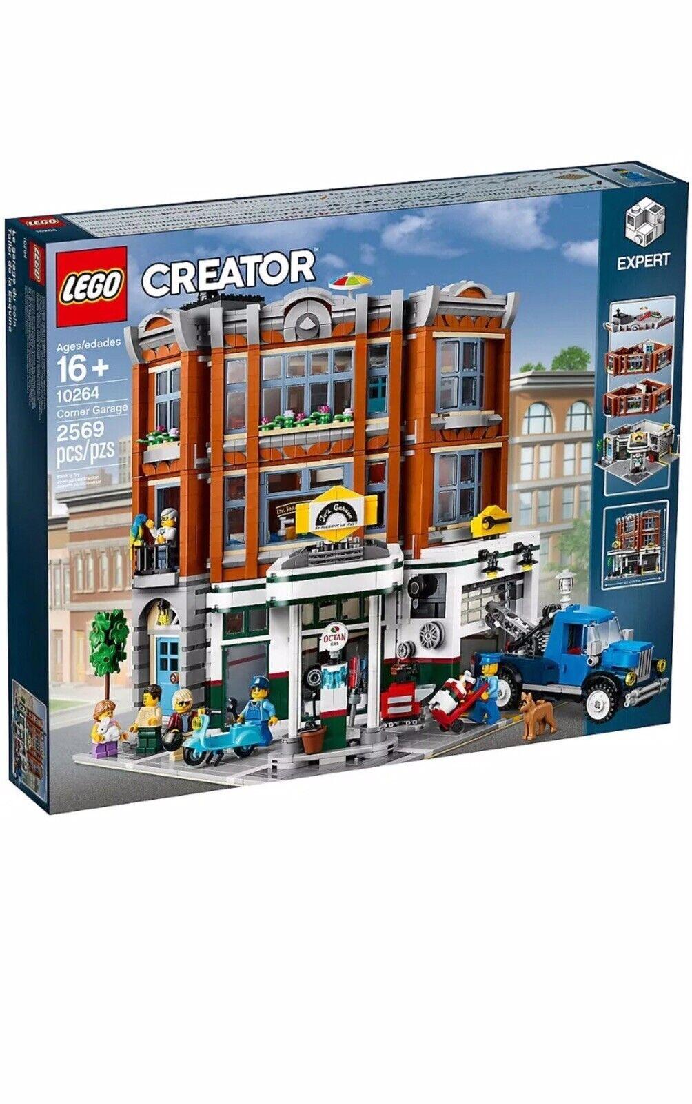 LEGO 10264 CREATOR EXPERT Corner Garage Brand New and Sealed FREE POSTAGE