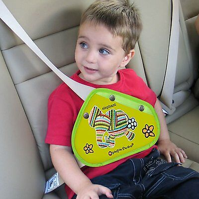 Seat Belt Adjuster For Children With Elephant Design D15-0004