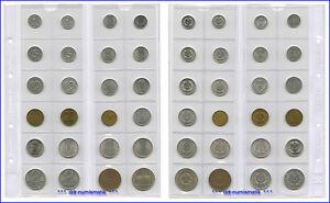 Alle-24-DDR-Muenzen-Typen-1948-1990-KOMPLETTE-SAMMLUNG
