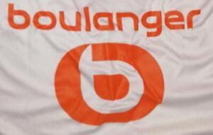 France flocage officiel Parions Sport blanc monblason maillot away OM 2020//2021