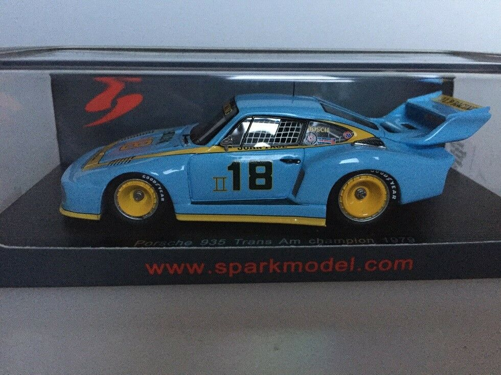 1 43 Spark Porsche 935 Trans Am champion 1979 S4415