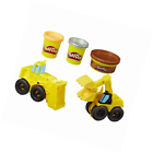 Play-Doh Wheels Excavator and Loader Toy Construction Trucks 1