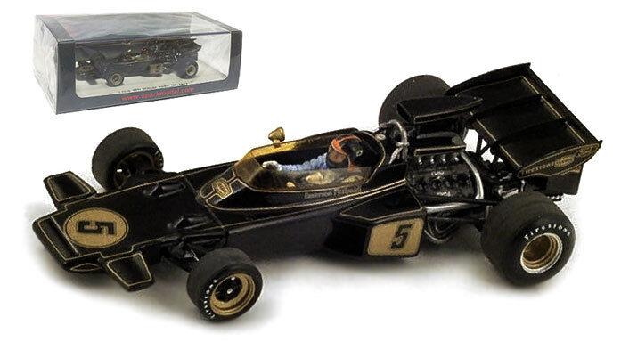 SPARK s4282 LOTUS 72D   5 1972 F1. campione del mondo-EMERSON FITTIPALDI scala 1/43