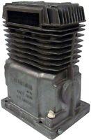 Air Compressor Pump Twin Cylinder Oil Lubricated Belt Drive Aluminum In-line