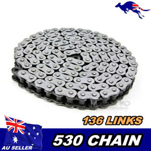 530-136-links-Motorcycle-Drive-Chain-Dirt-Pit-Bike-ATV-Quad-Bike-Buggy-GO-kart
