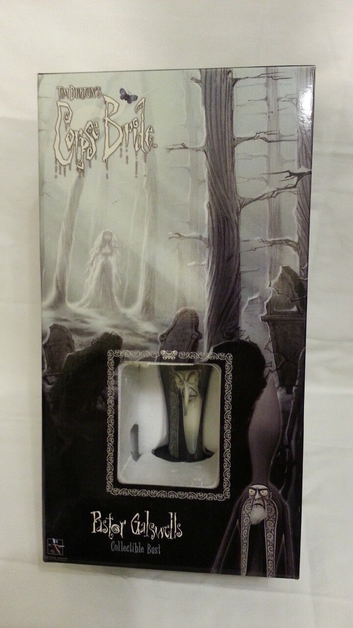 Tim Burton's Burton's Burton's Corpse Bride Pastor Galswell's collectible bust by Gentle Giant 9b9b56