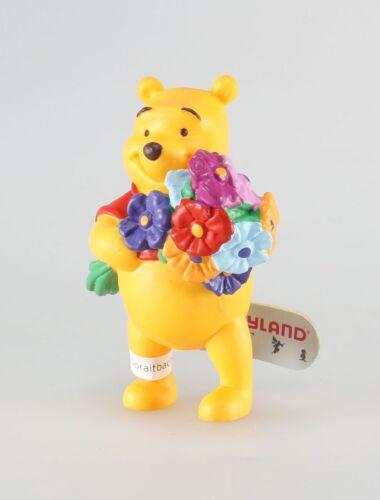 Disney Bully Figurine plastique Winnie l/'Ourson Winnie et son bouquet de fleur