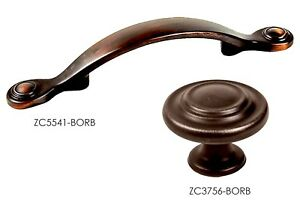 Details About S Handles Pulls Kitchen Cabinet Hardware In Brushed Bronze Zc3741 By Kpt
