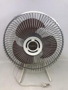 Vintage-Galaxy-Fan-On-Off-Switch-Mid-Century-1-Speed-Galaxy-Fan-10-034-Works-Good