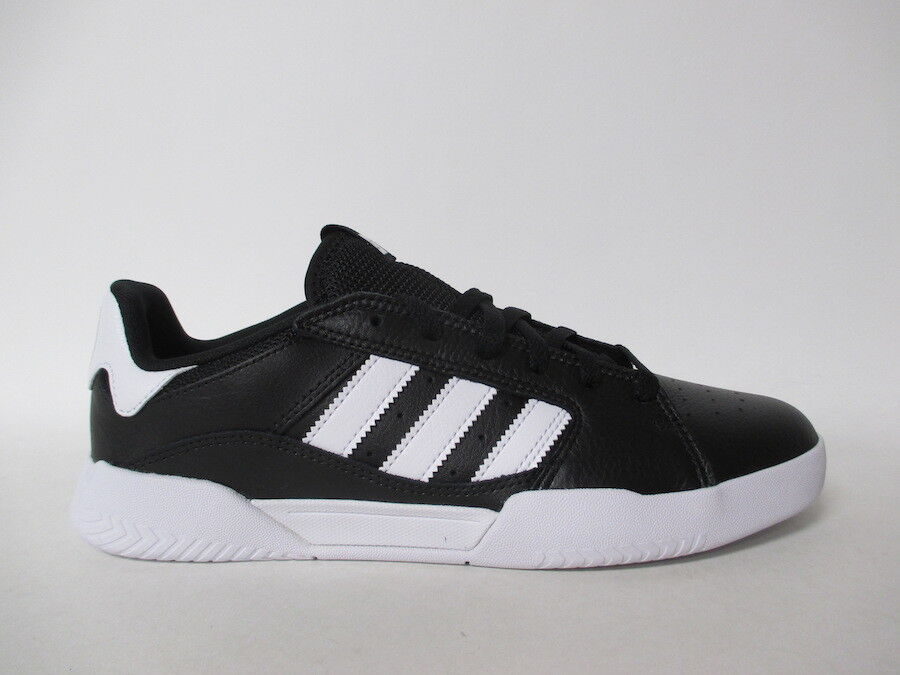 Adidas VRX Low Black White Leather Classic Sz 12 DB3176