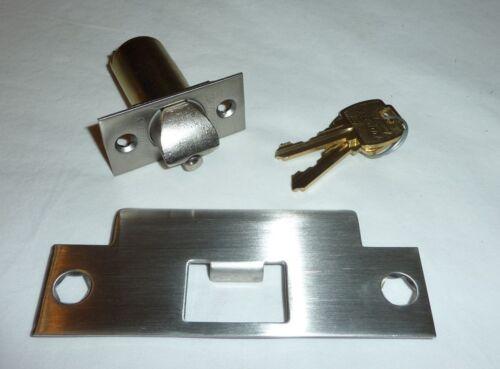 Falcon T351PD QUA 626 Commercial Closet Door Lock Grade 1 w// Keys SATIN CHROME