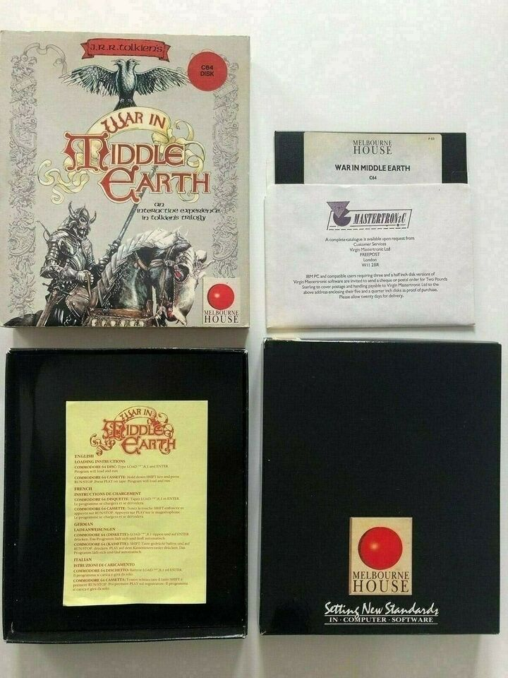 War In Middle Earth, C64