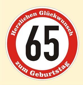Gluckwunsche Zum 65 Geburtstag