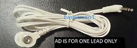 Electrode Lead Wire Cable 3.5mm For Erostek Estim Unit- Snap Connection Lead