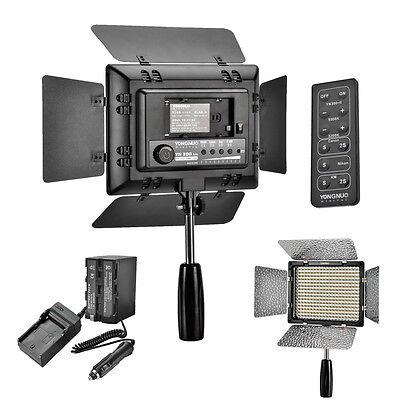 Yongnuo YN-300 II LED Video Light +1x NP-F750 Battery Kit For Canon Nikon Z