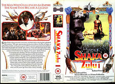 Shaka Zulu 1 - Christopher Lee - Video Sleeve/Cover #17222