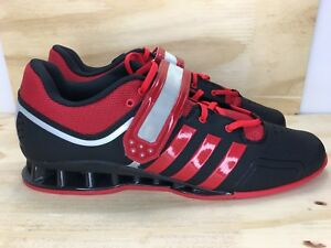 acfe8f63693 Image is loading Adidas-adiPower-Weightlifting-Shoes-Crossfit-Red-Black-Men-