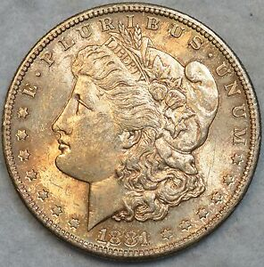 1881-S-Morgan-Silver-Dollar-Luster-Toned-Uncirculated-San-Francisco-Mint-76118