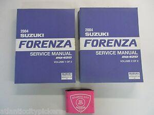 suzuki forenza 2008 service manual