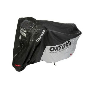 OXFORD-RAINEX-LARGE-HEAT-RESISTANT-MOTORBIKE-OUTDOOR-COVER