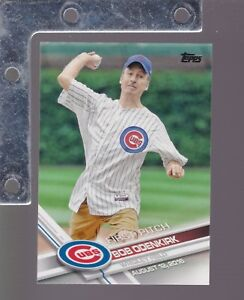 2017-Topps-Series-1-amp-2-FIRST-PITCH-Insert-SP-PICK-FROM-LIST-COMPLETE-YOUR-SET