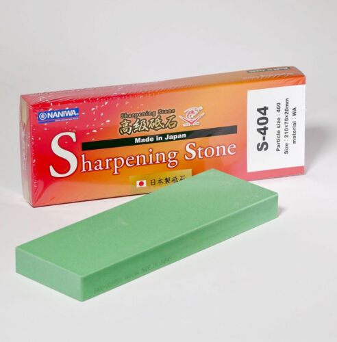 Japanese Naniwa Whetstone 400 Grit Sharpening Water Stone S-404 Made in Japan