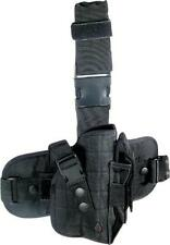 Black Tactical Drop Leg Holster Fits Glock 17 20 21 22 31 34 FN FNX FNS Pistols