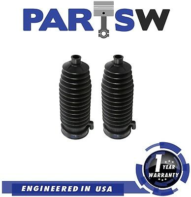 PartsW 2 Pc Rack /& Pinion Bellow Boots Kit for Ford Focus 2000-2005 All Models